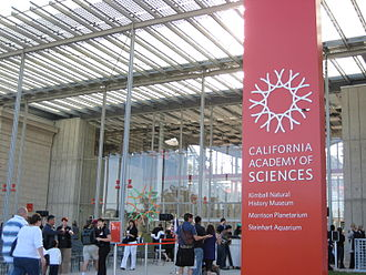 California Academy of Sciences - The new building on opening day.