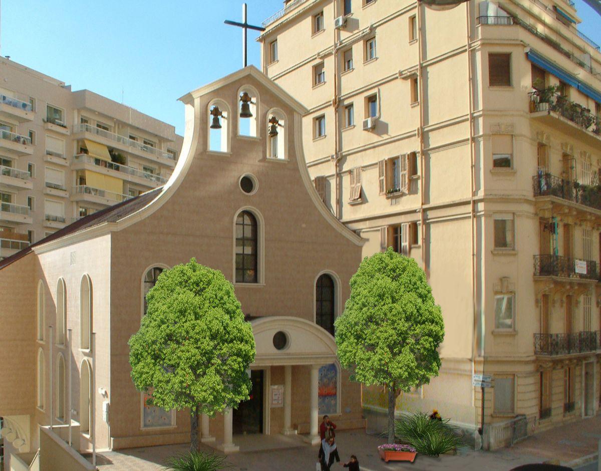 Glise sainte th r se de monaco wikip dia - Eglise sainte therese guilherand granges ...