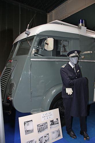 Compagnies Républicaines de Sécurité - CRS van 1950s - CRS Museum
