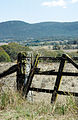 CSIRO ScienceImage 4081 Gate and gatepost entrance to rural property Canberra ACT.jpg