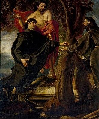 Juan Martín Cabezalero - Pasaje de la Vida de San Francisco, 1670, Prado Museum