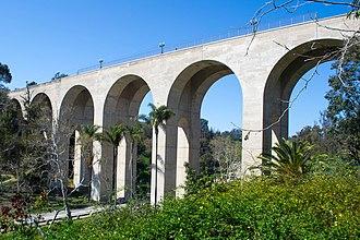 El Prado Complex - Image: Cabrillo Bridge 2