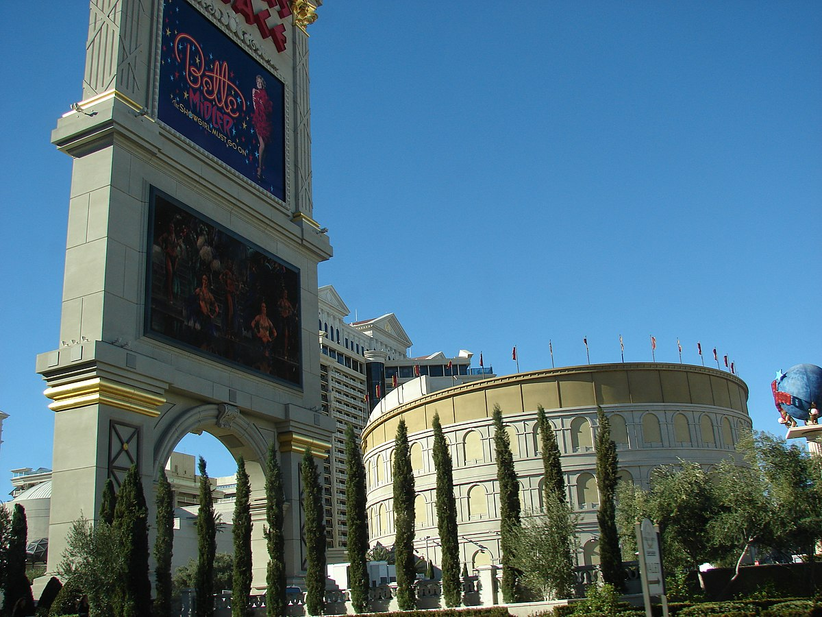 The Colosseum at Caesars Palace - Wikipedia on