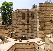 Cairo - Coptic area - Roman Tower.JPG