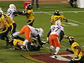 Cal on offense at 2008 Emerald Bowl 04.JPG