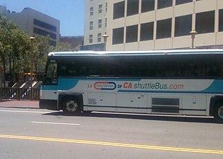 California Shuttle Bus American commercial intercity bus service