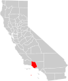 California county map (Ventura County highlighted).svg