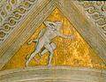 Camera picta, pennacchi, Ercole e il centauro Nesso 01.jpg