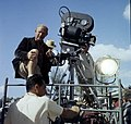 """Cameramen during filmming of """"Wind Across the Everglades"""" on location in Everglades National Park (9248470070).jpg"""