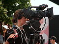 "Camerawomen at IV Meeting Of Fans of the TV Series ""M jak miłość"" in Gdynia 2010 - 5.jpg"