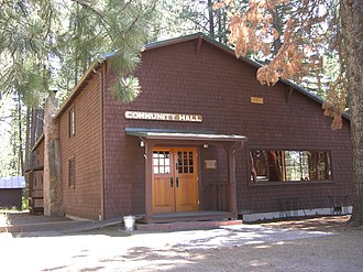 National Register of Historic Places listings in Jefferson County, Oregon - Image: Camp Sherman Community Hall