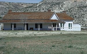 Camp Verde, Arizona - Image: Camp Verde Fort Camp Verde Bachelor Officers' Quarters 1871 xx