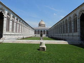 Camposanto Monumentale - Interior courtyard