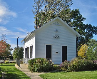Campton Hills, Illinois - Campton Town Hall has been used continuously since being built in 1874.