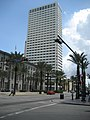 Canal St NOLA CBD Sept 2009 Custom House Canal Place.JPG
