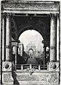 Canaletto - Capriccio con scalinata e arco di trionfo visto da un portico, inv. 316.jpg