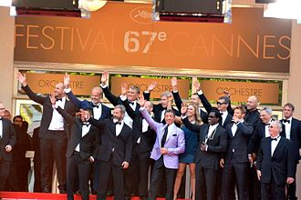The Expendables 3 - The cast of The Expendables 3 at the 2014 Cannes Film Festival