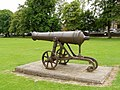 Cannon from the Crimean War, Armagh. - geograph.org.uk - 1389697.jpg