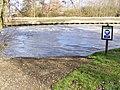 Canoe portage point downstream of Bungay Sluice - geograph.org.uk - 2303183.jpg