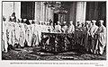 Capítulo de los Caballeros de Santiago en el salón de columnas del Real Palacio, de Goñi, Blanco y Negro.jpg