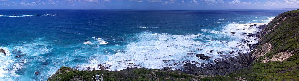 Cape Otway Lighthouse south west pano