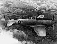Captured Nakajima Ki-44 in flight.jpeg