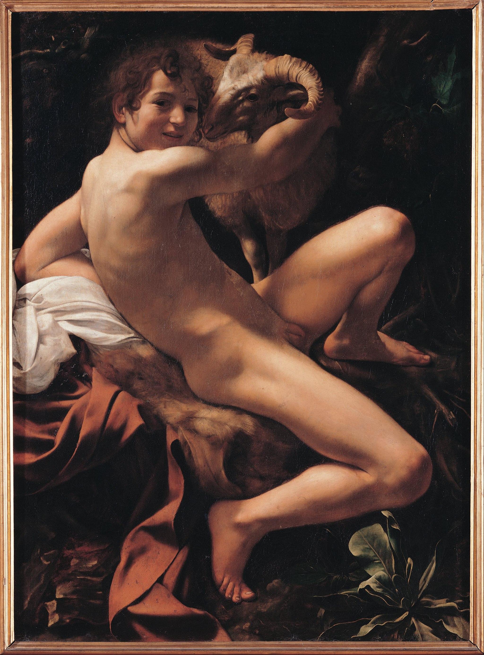 Caravaggio (Michelangelo Merisi) - Saint John the Baptist - Google Art Project