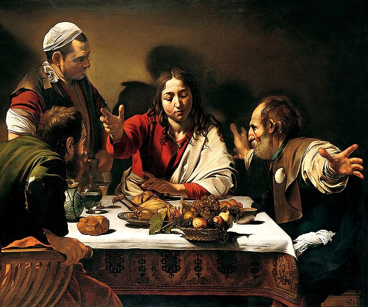 File:Caravaggio - Cena in Emmaus.jpg