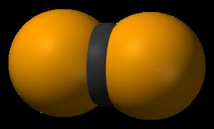 Carbon diselenide - Image: Carbon diselenide 3D vd W