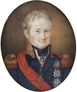 Charles Felix of Sardinia - Image: Carlos Félix de Cerdeña, por Jean Baptiste Isabey