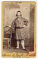 Carol Popp de Szathmáry - Matei Millo în costum de teatru, rolul Moise, în piesa Lipitorile satului.jpg