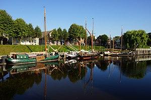 Schiffe im Museumshafen Carolinensiel
