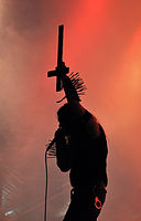 "Carpathian Forest, Roger ""Nattefrost"" Rasmussen at Party.San Metal Open Air 2013 11.jpg"