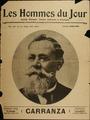 Carranza en la portada de Les Hommes du Jour, Francia, 1916.tif
