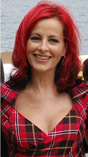Carrie Grant - Carrie Grant at the 2008 Red Bull Flugtag