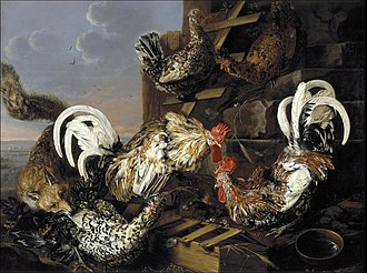 Carstian Luyckx - Fowl Attacked by a Fox