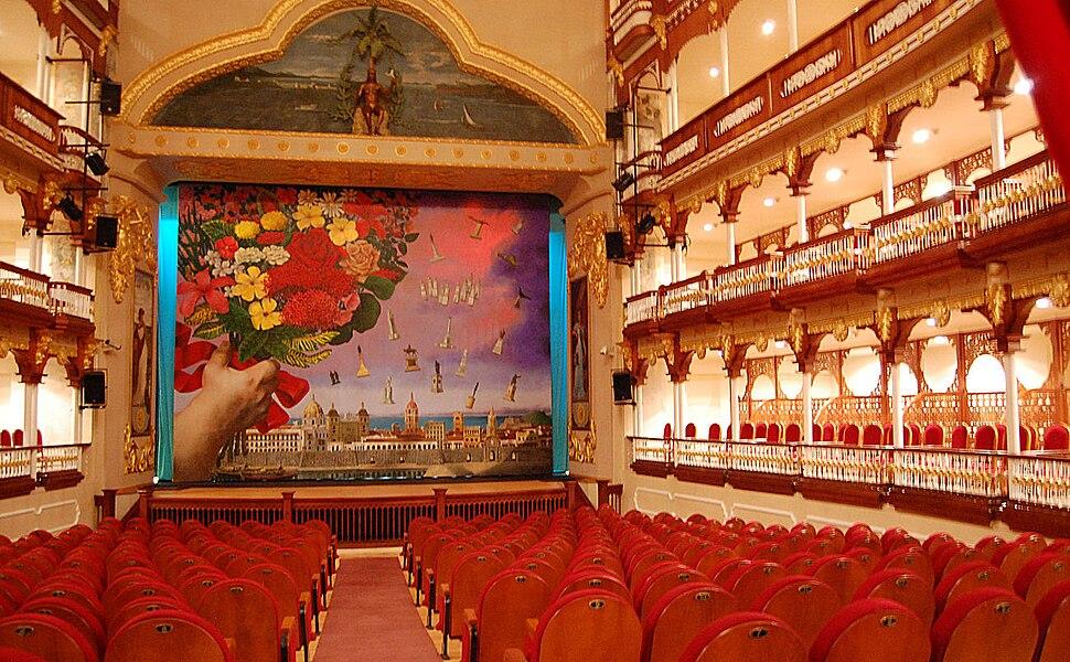 Cartagena de Indias, interior del Teatro Heredia 2