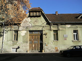 Ștefan Cicio Pop - Cicio Pop's house in Arad, which served as headquarters for the Central Romanian National Council.