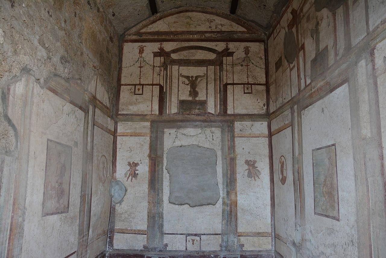 File casa della caccia antica pompei wlm 002 jpg for Planimetrie della casa antica
