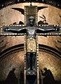 Casale monferrato, duomo, interno, crocifisso in lamina d'argento del xii secolo 02.jpg