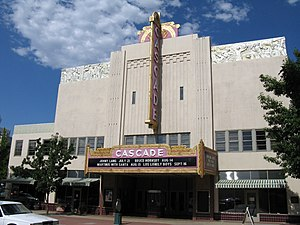 Redding, California - The Cascade Theater