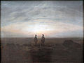Caspar David Friedrich (5)Two Men by the Sea.JPG