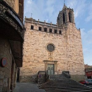 Cassà de la Selva - St. Martin's parish church, Cassà de la Selva