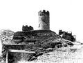 Castello di chatel-argent dall'interno del recinto, foto brocherel, fig 41, nigra.tiff