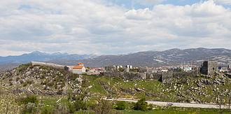 Nikšić - Bedem castle.