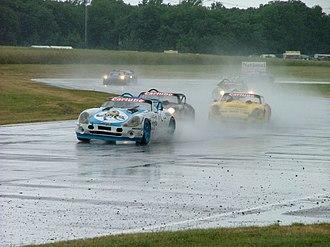 Castle Combe Circuit - Image: Castle Combe wet race