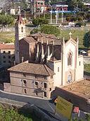 Catalunya en Miniatura-Església de Torrelles de Llobregat