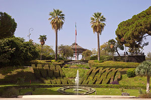 Giardino Bellini - Landscape from the main entrance