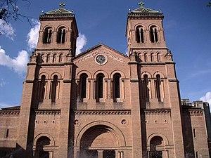Medellín - Metropolitan Cathedral of Medellín.