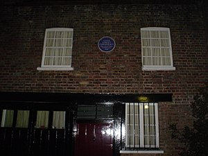 Cato Street Conspiracy - The London building where the conspirators were discovered which is today marked by a blue plaque